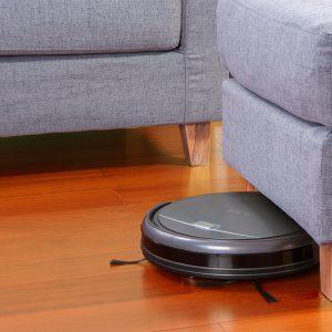 Aspirateur robot fin qui passe sous les meubles Chuwi ILIFE A4