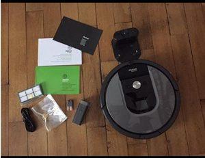 Aspirateur robot intelligent achat accessoires iRobot Roomba 960