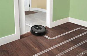 Aspirateur robot performant barre de seuil iRobot Roomba 960