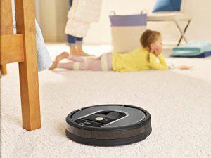 Aspirateur robot performant moquette tapis iRobot Roomba 960