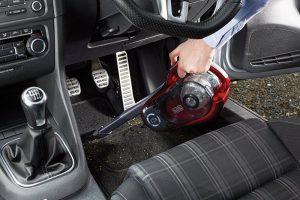 Test aspirateur balai et à main pour voiture Black et Decker HVFE2150LR