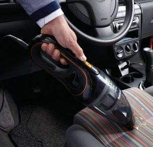 Test aspirateur sans fil vide voiture Philips MiniVac FC6149