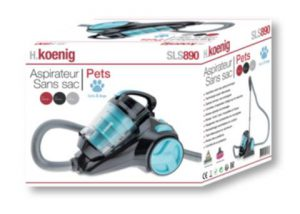 Achat aspirateur silencieux pas cher animaux H.Koenig SLS890