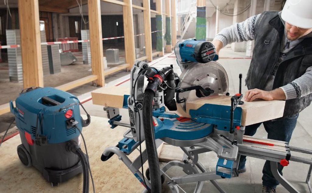 Aspirateur poussière atelier chantier Bosch GAS 35 L SFC+