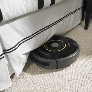 Aspirateur robot fin test iRobot Roomba 650