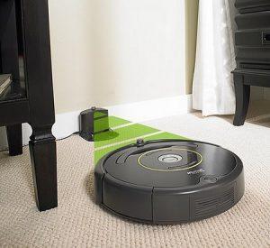 Aspirateur robot pas cher automatique dock chargement iRobot Roomba 650
