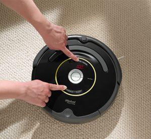 Aspirateur robot pas cher manuel sans télécommande iRobot Roomba 650