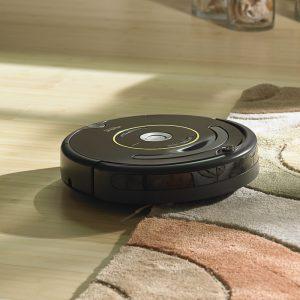 Aspirateur robot pas cher tapis moquette iRobot Roomba 650