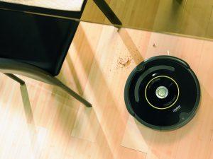Aspirateur robot poussière et poils d'animaux pas cher iRobot Roomba 650