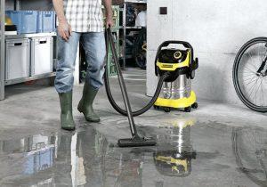 Test aspirateur à eau Kärcher WD5 Premium
