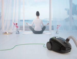 Test aspirateur avec sac silencieux Electrolux Zen Zusgreen58