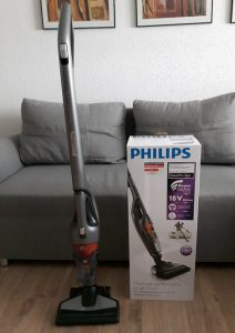 Test aspirateur balai tapis et sol dur rechargeable Philips FC6168-01 Powerpro duo