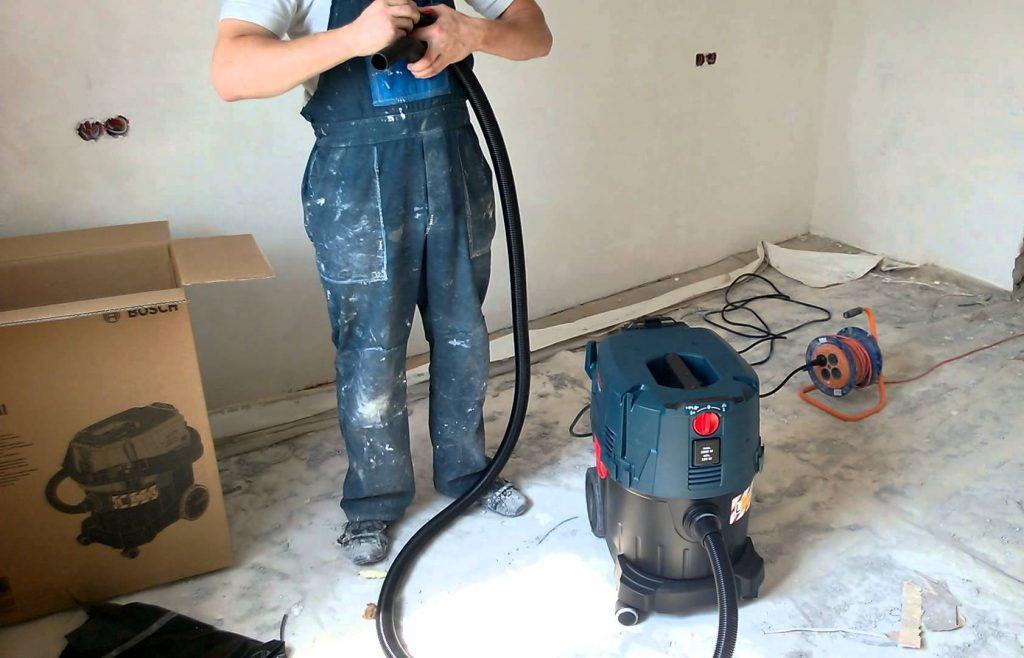Test aspirateur chantier eau et poussière Bosch GAS 35 L SFC+