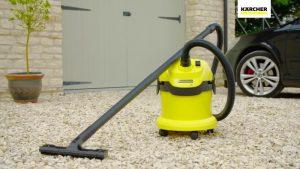 Test aspirateur eau et poussière Kärcher WD2