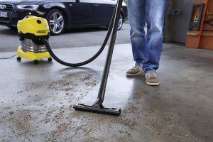 Test aspirateur eau et poussière Kärcher WD4 Premium - garage