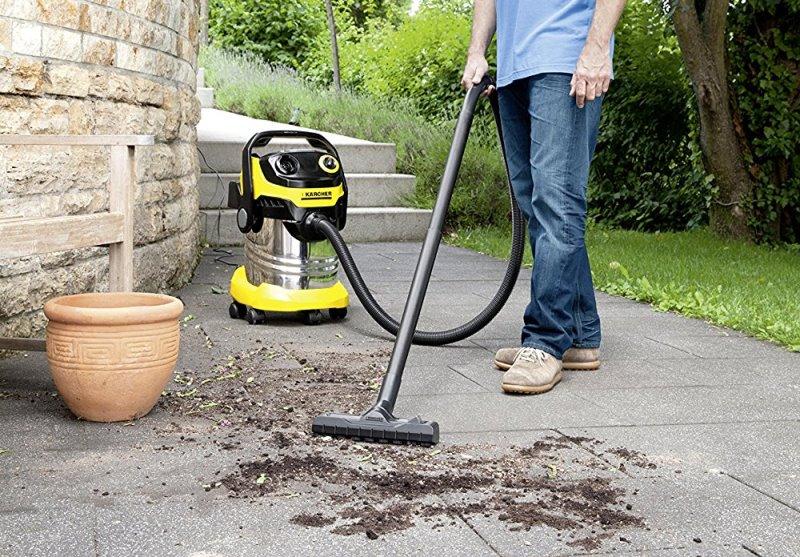 K rcher wd5 premium un aspirateur eau et poussi re de qualit - Aspirateur jardin sans fil ...