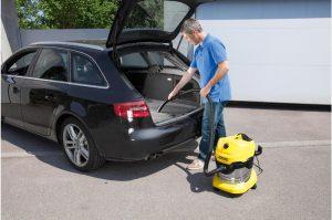 Test aspirateur eau et poussière voiture Kärcher WD3 Premium