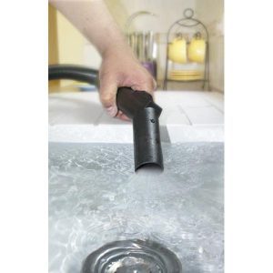 Test aspirateur industriel lavabo Vax 7151
