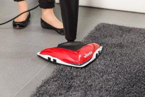 Test aspirateur nettoyeur vapeur tapis et moquette Vileda 146574 Steam