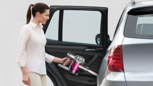 Test aspirateur voiture sans fil Dyson Digital Slim DC62