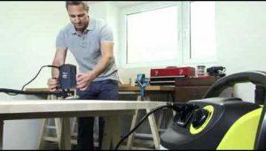 Test atelier aspirateur eau et poussière Kärcher WD 5600 MP