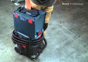 Transport aspirateur chantier eau et poussière Bosch GAS 35 L SFC+