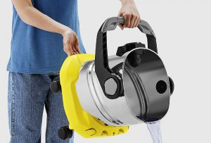 Vidage aspirateur eau et poussière Kärcher WD5 Premium