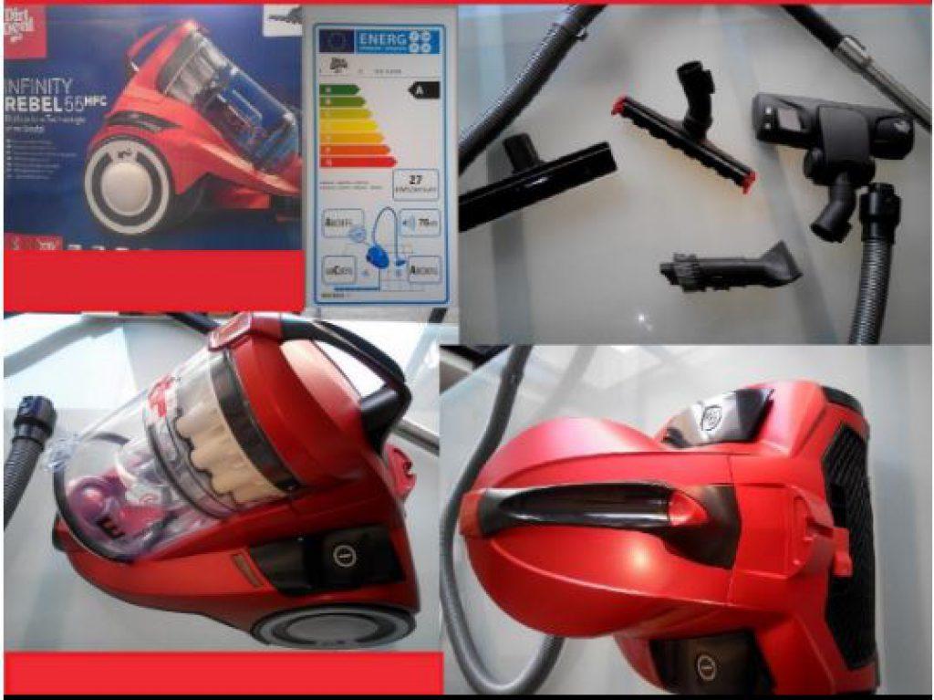 Avis et test aspirateur sans sac Dirt Devil DD5255-3 Infinity Rebel 55 HF