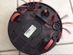accessoire aspirateur robot dirt devil M607