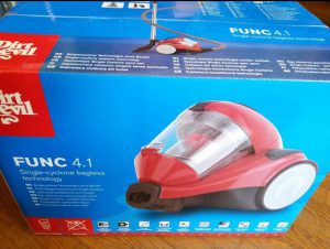 achat aspirateur sans sac cyclonique Dirt Devil Func-4.1 DD2324-4