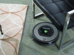 aspirateur robot silencieux iRobot Roomba 772e
