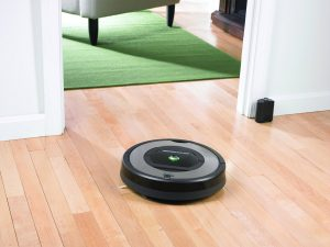 aspirateur robot silencieux intelligent iRobot Roomba 772e