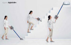 maniabilitéaspirateur balai Dyson Digital Slim