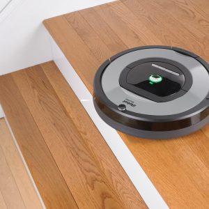 meilleur aspirateur robot silencieux intelligent iRobot Roomba 772e