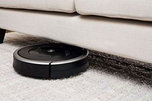test aspirateur automatique irobot roomba 871