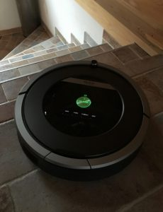 test aspirateur iRobot Roomba 871