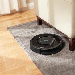 test aspirateur robot iRobot Roomba 865 sur tapis
