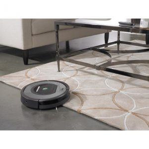 test aspirateur robot silencieux intelligent iRobot Roomba 772e