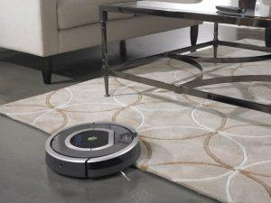 test aspirateur robot silencieux irobot roomba 782e