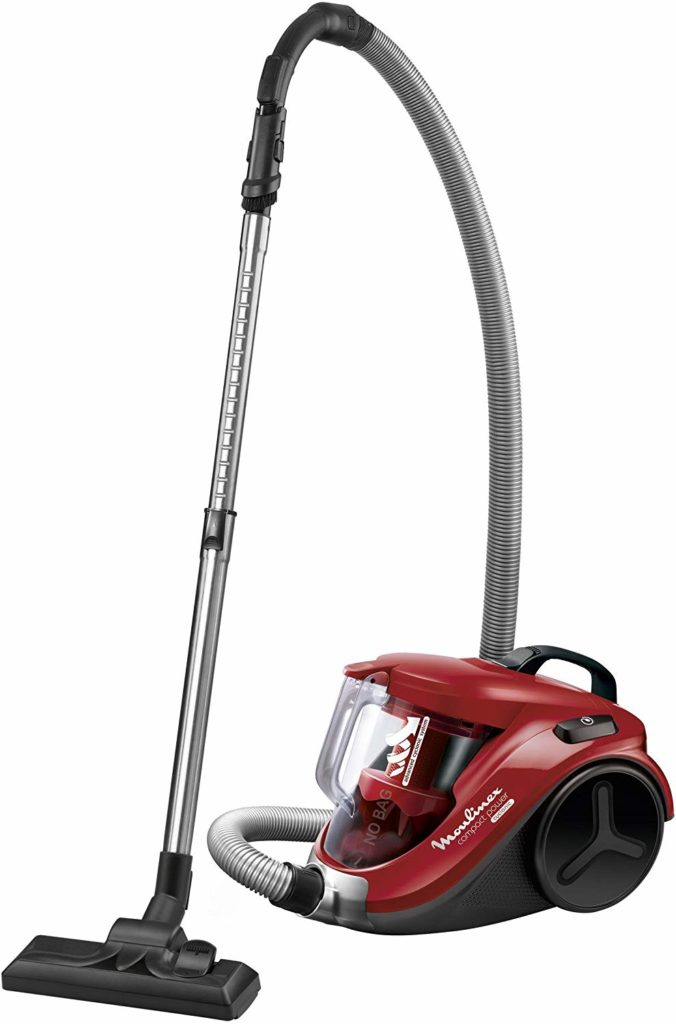 Test Moulinex MO2727PA City Space Cyclonic Aspirateur