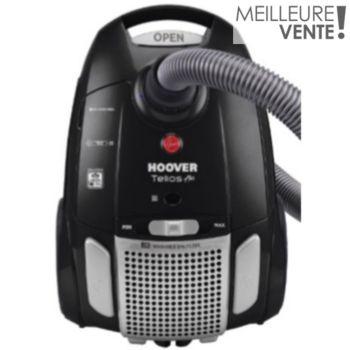 Aspirateur avec sac Hoover TE76PAR011 TeliosPlus Luxor Black