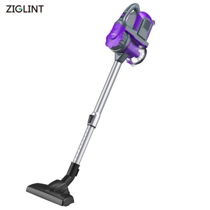Aspirateur Balai Ziglint Z3 - sans fil - sans Sac - 7500PA - 0.8L Collecteur - 120W Violet