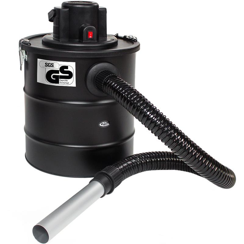Aspirateur à Cendres 1200 Watt 20 Litres Noir + 1 Filtre