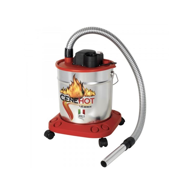 Aspirateur à cendres chaudes Cenehot 18 L Ribitech PRCEN008