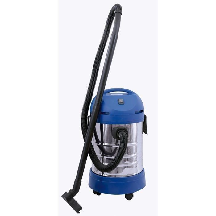 Aspirateur d'atelier 30l eau et poussière 1250W type bidon 994862