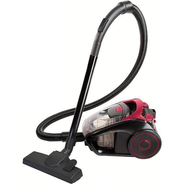 aspirateur sans sac aaad 85db rouge/noir - doh111r