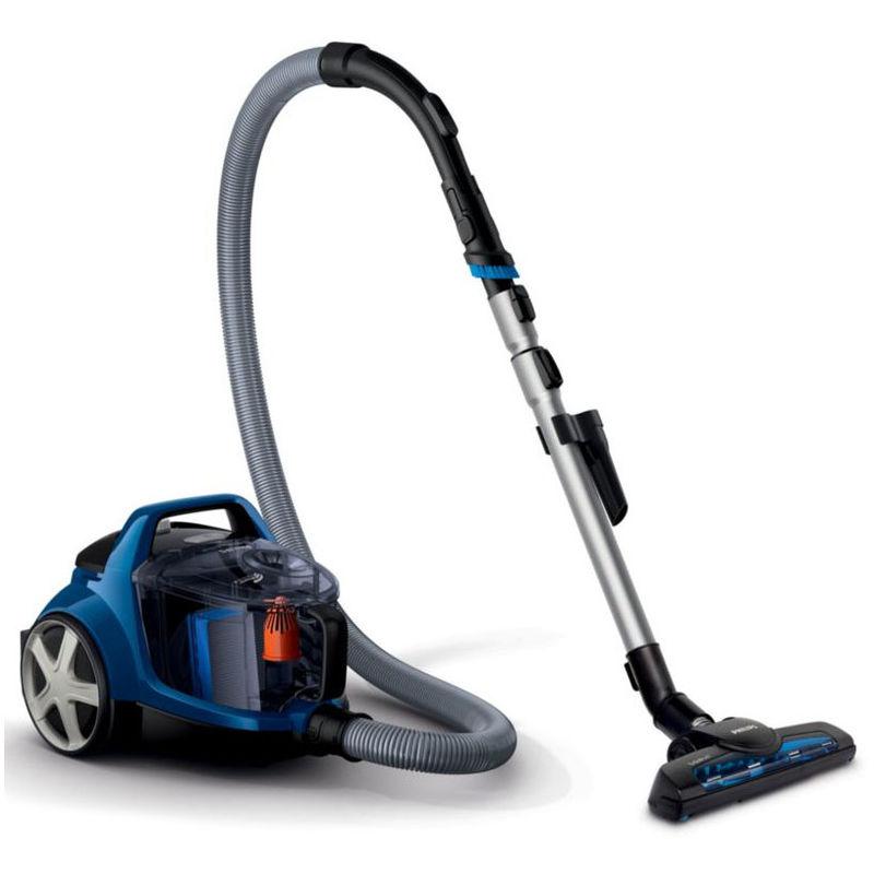 aspirateur sans sac acda 78db noir/bleu - fc9533/09 - philips