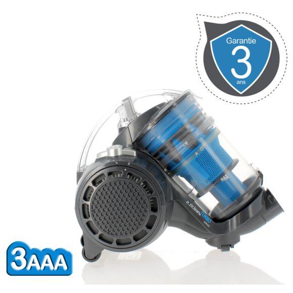EZICLEAN - Aspirateur sans sac Turbo eco-silent
