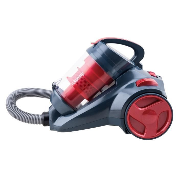 H.KOENIG SLX970 ASPIRATEUR SILENCIEUX POWER & CLEAN CATS & DOGS