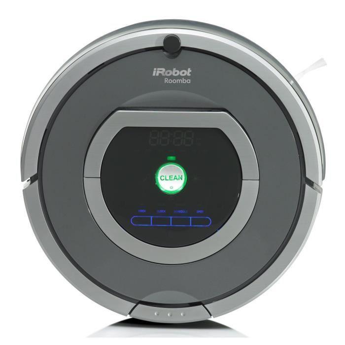iROBOT Roomba 782e - Aspirateur robot - 33W - 61 dB - Gris